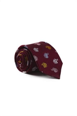 Gant ανδρική μεταξωτή γραβάτα με print