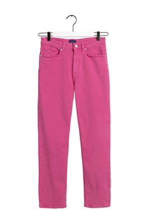 Gant γυναικείο τζην παντελόνι ψηλόμεσο cropped  Slim Fit