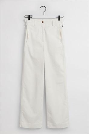 "Gant γυναικείο παντελόνι ψηλόμεσο ""Nautical Canvas"""