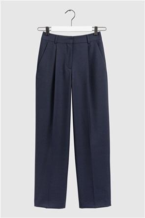 "Gant γυναικείο παντελόνι ψηλόμεσο με πιέτες ""Wool-Blend"""