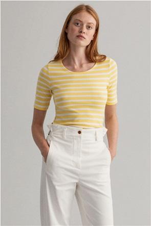 Gant γυναικεία μπλούζα με ριγέ σχέδιο Slim Fit