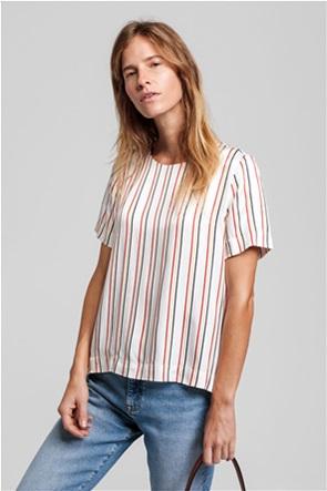 Gant γυναικεία μπλούζα με ριγέ σχέδιο