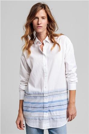 Gant γυναικεία πουκαμίσα με ριγέ σχέδιο