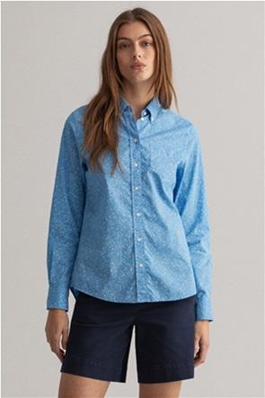 Gant γυναικείο πουκάμισο με all-over floral print Regular Fit