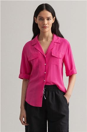 Gant γυναικείο πουκάμισο με flap τσέπες ''Light safari''