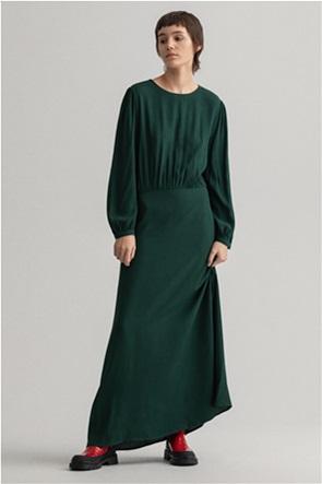 "Gant γυναικείο maxi φόρεμα μονόχρωμο ""Flowing Crepe"""