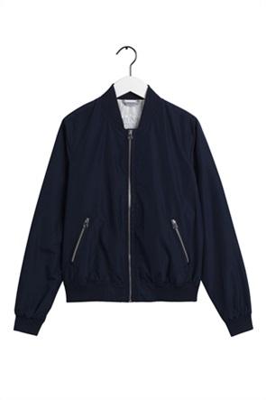 "Gant γυναικείο bomber jacket μονόχρωμο ""Blouson"""