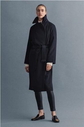 Gant γυναικείο μάλλινο παλτό με ζώνη
