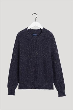 "Gant γυναικείο πουλόβερ με ribbed πλέξη ""Neps Crew"""