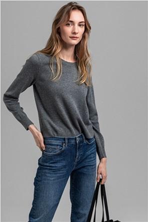 Gant γυναικείο πουλόβερ με στρογγυλή λαιμόκοψη