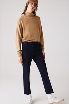 Lacoste γυναικείο παντελόνι chino cropped