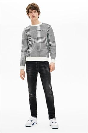 Lacoste ανδρικό τζην παντελόνι ελαστικό Slim fit