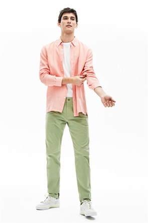 Lacoste ανδρικό παντελόνι πεντάτσεπο Slim fit
