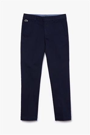 Lacoste παιδικό υφασμάτινο παντελόνι Chinos (4-16 ετών)