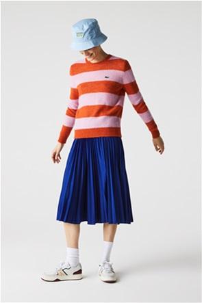 Lacoste γυναικεία midi φούστα πλισέ ψηλόμεση