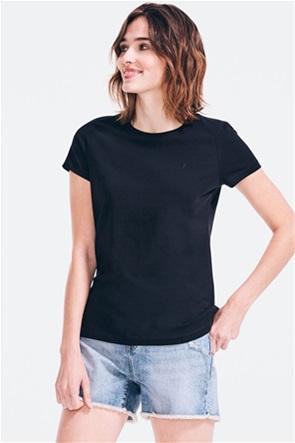 Nautica γυναικείο T-shirt με κεντημένο λογότυπο