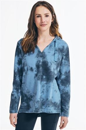 Nautica γυναικεία φούτερ μπλούζα με κουκούλα Tie-dye
