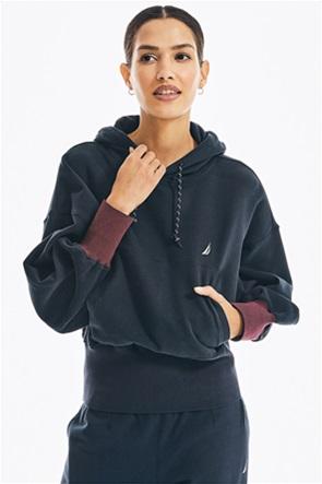Nautica γυναικεία φούτερ μπλούζα με κουκούλα
