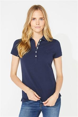 Nautica γυναικεία polo μονόχρωμη μπλούζα