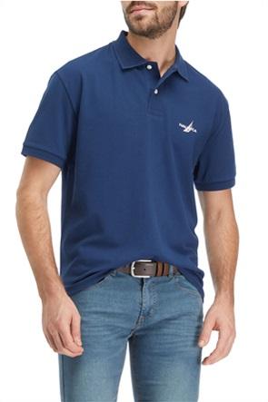 Nautica ανδρική πόλο μπλούζα με κεντημένο λογότυπο