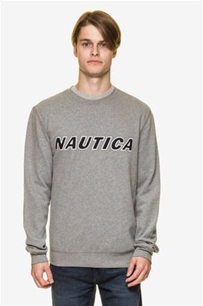Nautica ανδρική μπλούζα φούτερ με logo