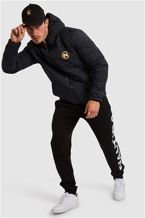 Nautica ανδρικό μπουφάν καπιτονέ με κεντημένο λογότυπο
