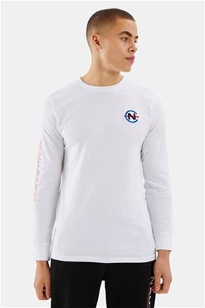 Nautica ανδρική μπλούζα με κεντημένο λογότυπο ''Laveer''