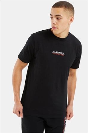 Nautica ανδρικό T-shirt με κεντημένο λογότυπο ''Afore''