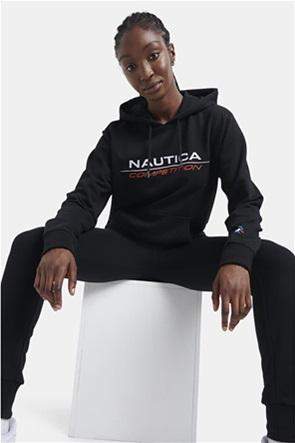 Nautica γυναικεία φούτερ μπλούζα με κουκούλα και κεντημένο λογότυπο