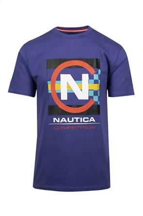 Nautica ανδρικό T-shirt με oversized logo print