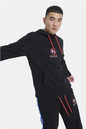 Nautica ανδρική φούτερ μπλούζα με κουκούλα και κεντημένο λογότυπο