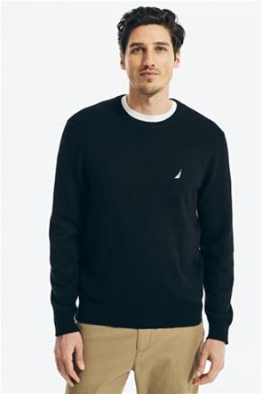 Nautica ανδρική πλεκτή μπλούζα με κεντημένο λογότυπο