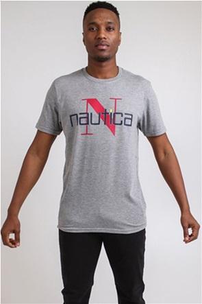 Nautica ανδρικό Τ-Shirt με graphic print