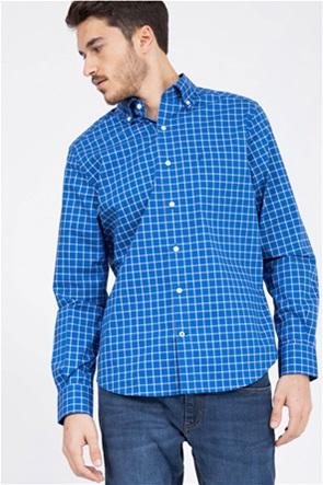 Nautica ανδρικό καρό πουκάμισο με τσέπη στο στήθος