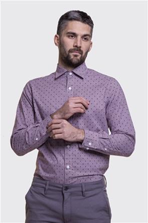 Nautica ανδρικό πουκάμισο με μικροπουά print