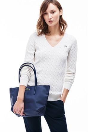 "Lacoste γυναικεία τσάντα ώμου ""Concept Small Zip Tote"""