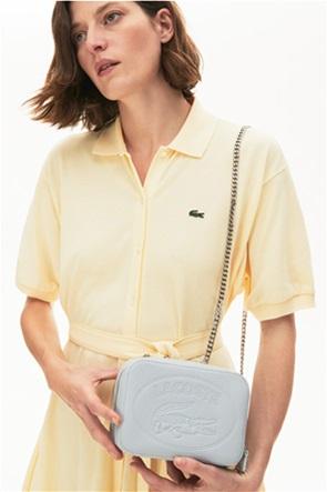 Lacoste γυναικεία τσάντα crossbody με αλυσίδα