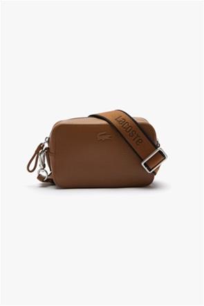 Lacoste γυναικεία τσάντα crossbody με ανάγλυφο σχέδιο