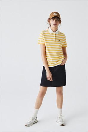 Lacoste γυναικεία πόλο μπλούζα ριγέ