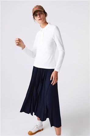 "Lacoste γυναικεία μπλούζα πόλο ""Stretch Piqué"" Slim Fit"