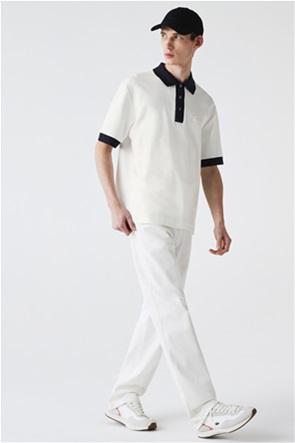 Lacoste ανδρική πόλο μπλούζα πικέ Loose Fit