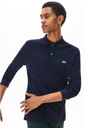 Lacoste ανδρική μπλούζα μονόχρωμη πικέ polo