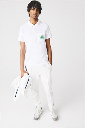 Lacoste ανδρική πόλο μπλούζα πικέ με τσέπη
