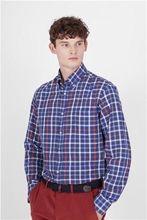 Paul&Shark ανδρικό πουκάμισο με καρό σχέδιο
