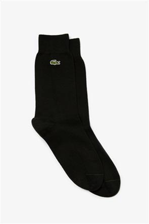 Lacoste ανδρικές ψηλές μονόχρωμες κάλτσες