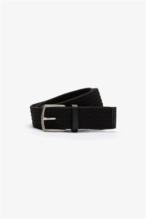 """Lacoste ανδρική πλεκτή ζώνη """"Engraved Buckle Stretch Knitted"""""""