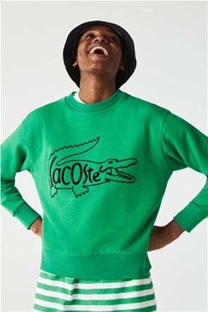 Lacoste γυναικεία μπλούζα φούτερ με crocodile print