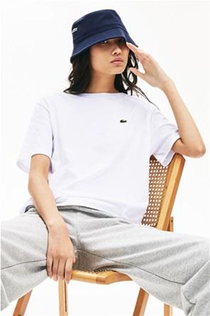 """Lacoste γυναικείο T-shirt μονόχρωμο """"Crew Neck Premium"""""""