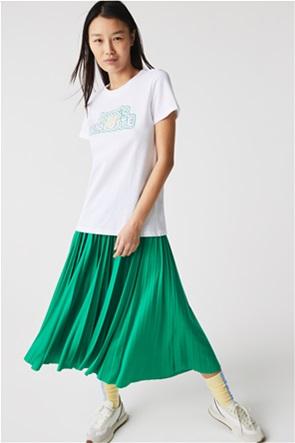 Lacoste γυναικείο T-shirt με letter print