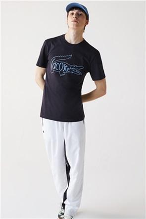 Lacoste ανδρικό T-shirt με κεντημένο λογότυπο